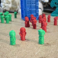 Small Doctor Pawns Premium Pack - War, 12, and Vasta Narada 3D Printing 54780