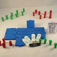 Small TARDIS Run Game - Print in Parts 3D Printing 54790