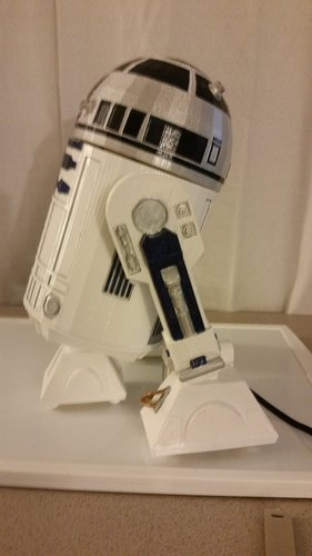 R2D2 Non Electronic Version 3D Print 54978