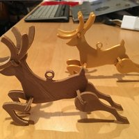 Small Voltivo Christmas Reindeer 3D Printing 54986
