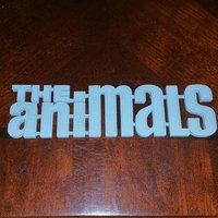 Small The Animals 3D Printing 55063