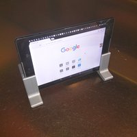 Small Nexus 9 Stand for traveling and in car 3D Printing 55165