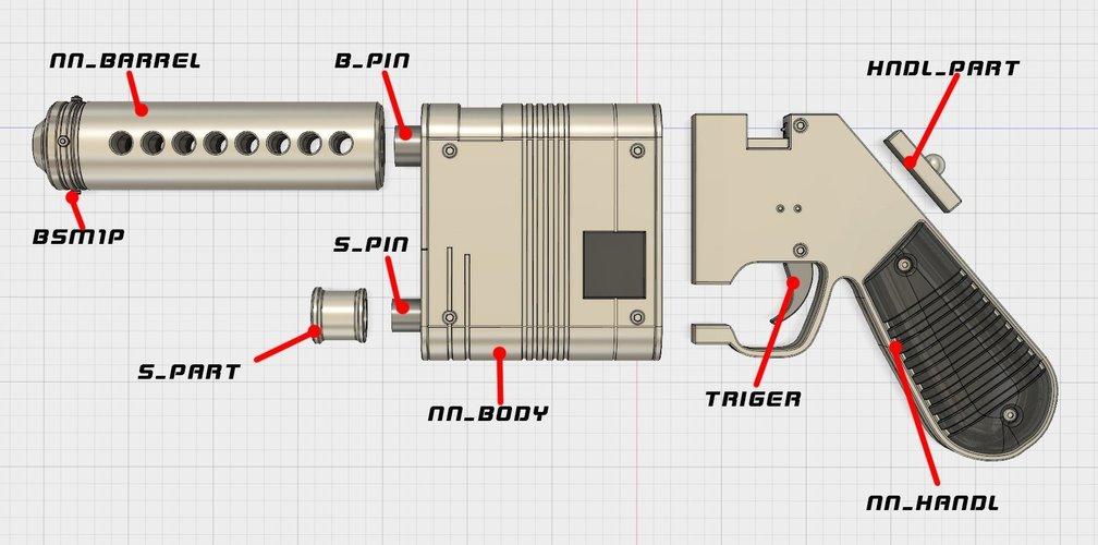 Blaster printer Manual