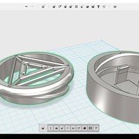 Small Iron Man- Arc Reactor 3D Printing 55226