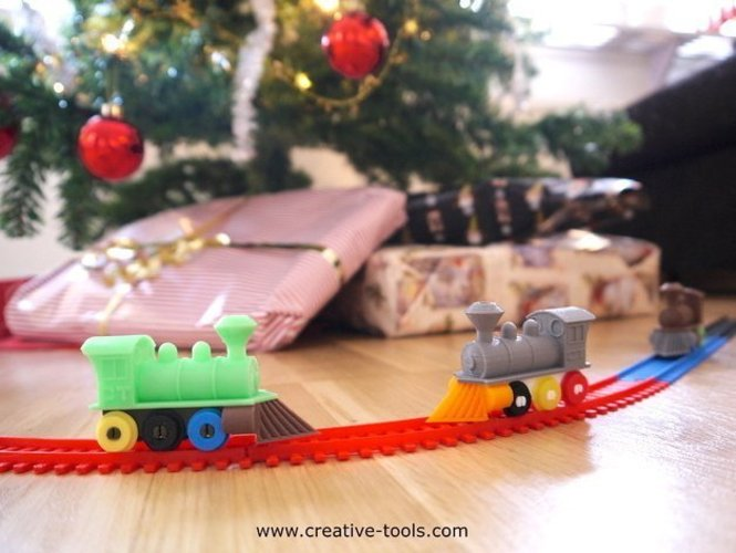 CT Toy Train & Tracks 3D Print 55362