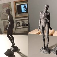 Small Funny Girl 3D Printing 55364