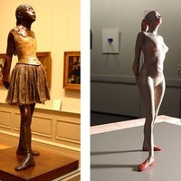 Small Degas Girl 3D Printing 55366