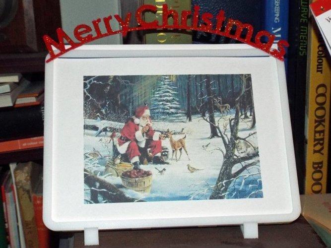 3d printed alternative christmas cardframe by watchmaker pinshape alternative christmas cardframe 3d print 55406 m4hsunfo