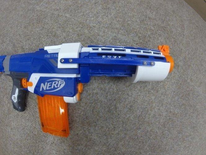 Nerf retaliator pump action 2.0 3D Print 55422