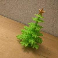 Small Christmas Tree - no support - Merry Christmas... 3D Printing 55485