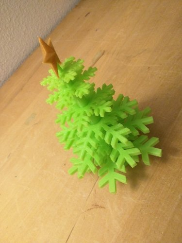 Christmas Tree - no support - Merry Christmas... 3D Print 55487