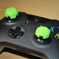 Small KillStix - XBOX One Controller Stick Extenders  3D Printing 55512