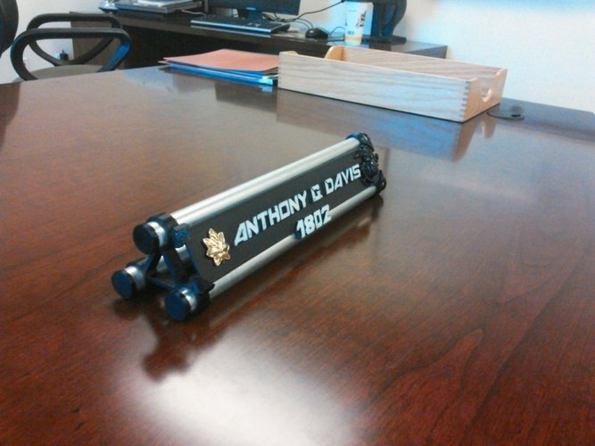 Awesome Name Plate Project Print 55570