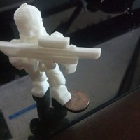 Small Titanfall Pilot - Based on Ghost version 4.1 3D Printing 55652