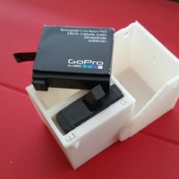 Small GoPro Hero 4 Battery Case 3D Printing 55717