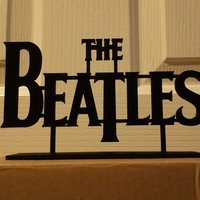 Small The Beatles 3D Printing 55744