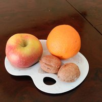 Small Fruit palette 3D Printing 55769