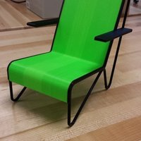 Small Buegel Stoel Chair 3D Printing 55857