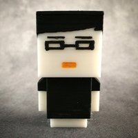 Small Blockhead Norm - Tested 3D Printing 56103