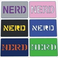 Small Nerd Card 3D Printing 56164