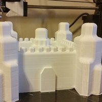 Small Sand Castle Hex 3D Printing 56238