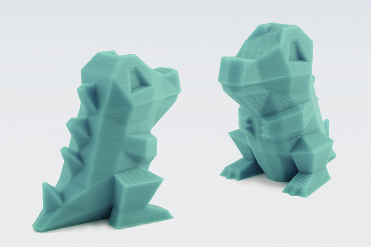 3d Printed Low Poly Pokemon By Flowalistik Pinshape
