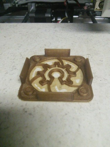 Open Hardware 40mm Clip-On Fan Cover 3D Print 56262