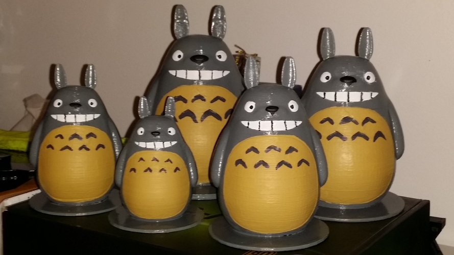 TOTORO my friends (reworked) 3D Print 56327