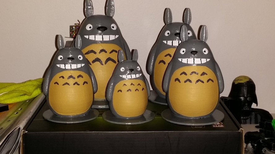 TOTORO my friends (reworked) 3D Print 56328