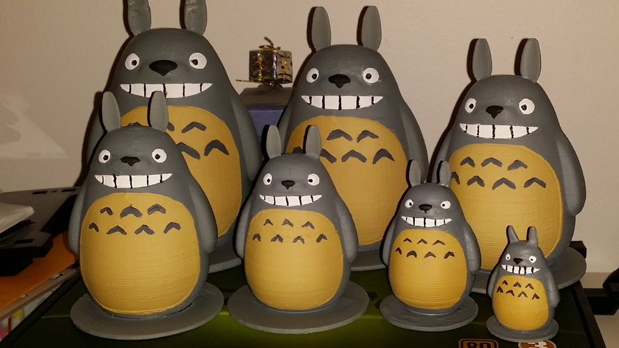 TOTORO my friends (reworked) 3D Print 56329