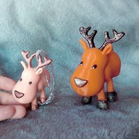 Small Small Jointed Reindeer 3D Printing 56376