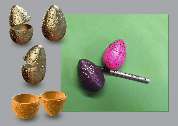 Medium Easter Egg 3D Printing 56378