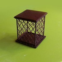 Small Grid Case 3D Printing 56405