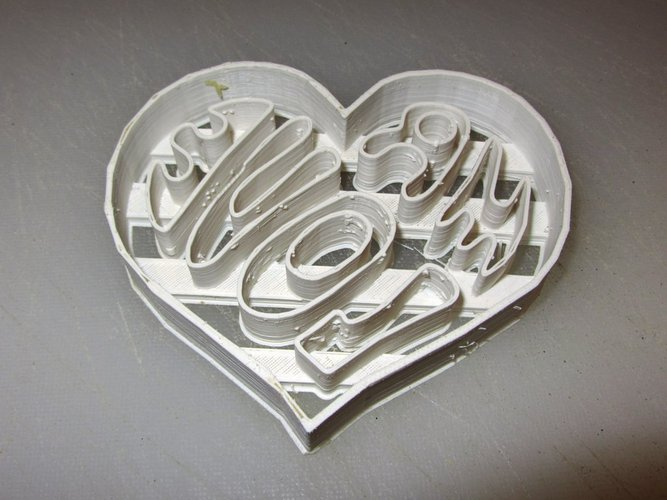 Mr Love cookie cutter and press 3D Print 56460