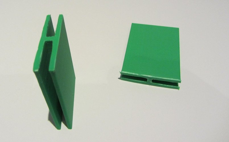 Cardboard box close clip 3D Print 56467
