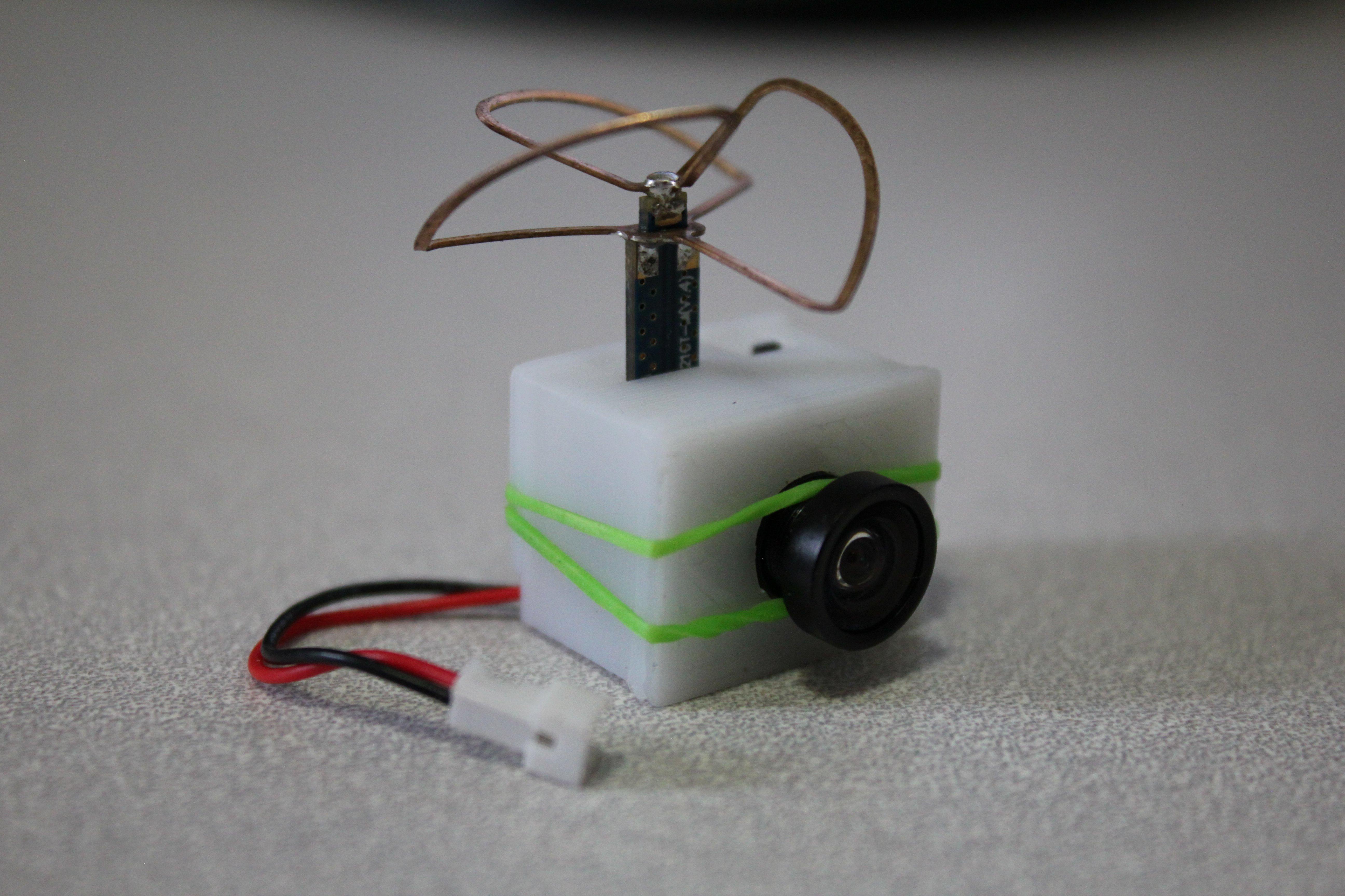 3D Printed micro fpv camera case by Morgan Hawkins | Pinshape