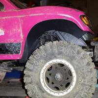Small Axial SCX-10 Honcho Front Fender 3D Printing 56663