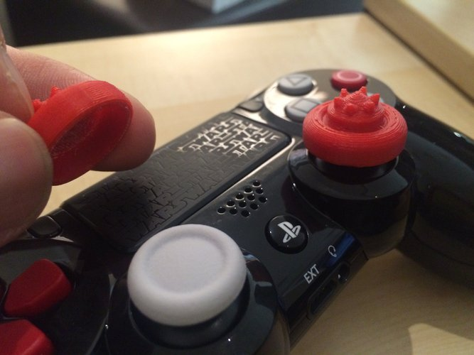 AG Thumbstick extender for PS4 3D Print 56797