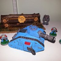 Small Gaming Tank 3D Printing 56838