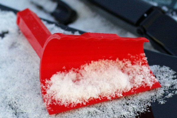 Medium Snow Plow Ice Scraper 3D Printing 56936