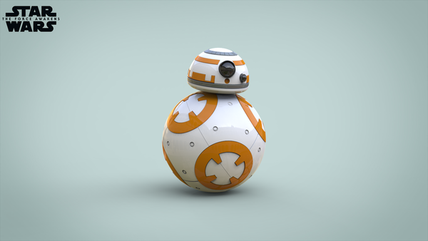 Medium BB8 DROID - STAR WARS: THE FORCE AWAKENS 3D Printing 56939