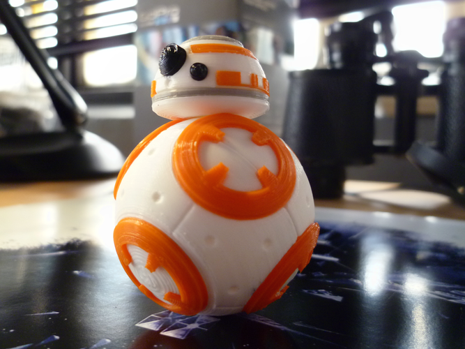 BB8 DROID - STAR WARS: THE FORCE AWAKENS 3D Print 56941