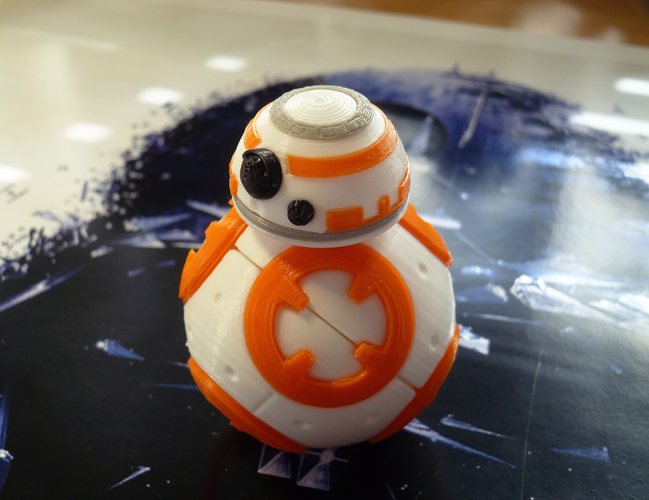 BB8 DROID - STAR WARS: THE FORCE AWAKENS 3D Print 56942