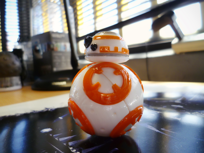 BB8 DROID - STAR WARS: THE FORCE AWAKENS 3D Print 56943
