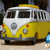 Small hippies van 3D Printing 57035