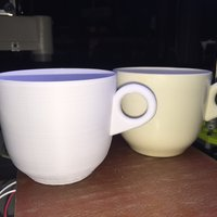 Small Old Timey gramma coffee cup 3D Printing 57074