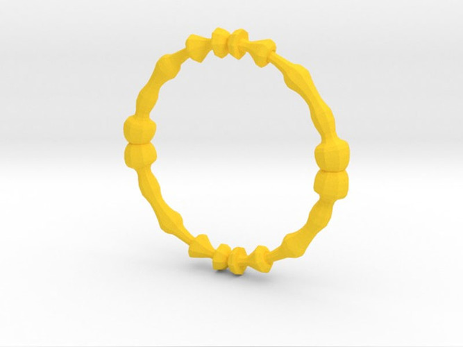 Lathed Bangle 3D Print 5710
