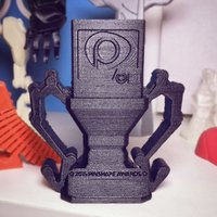 Small Pinshape Awards Trophy 3D Printing 57132