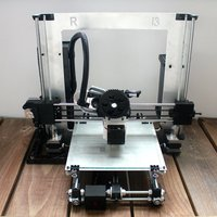 Small 3D Printer Files | Revolution Media Groups Rep Rap Rework i3 3D Printing 57177