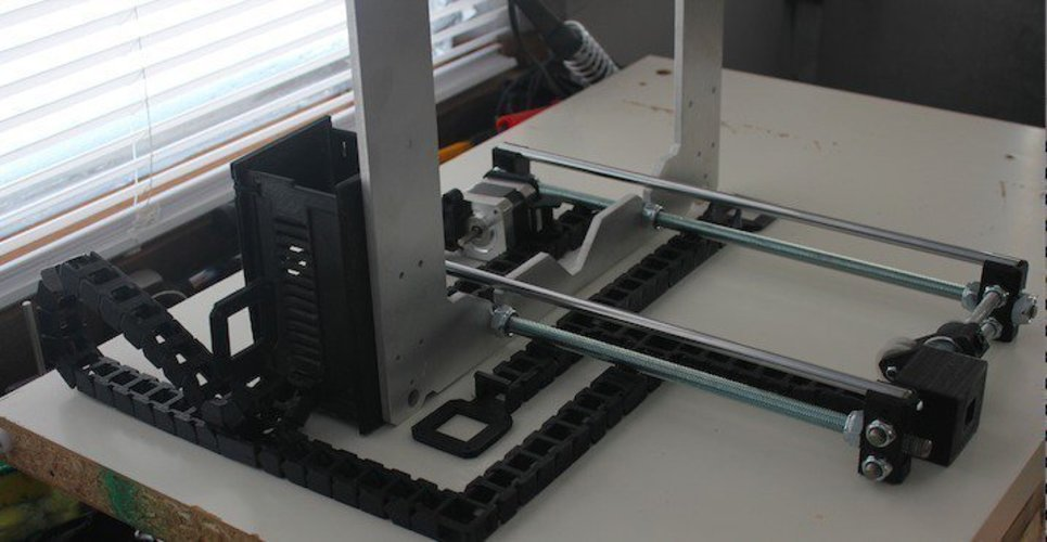 Cable Chain System | Revolution Media Groups Rep Rap Rework i3 3D Print 57188
